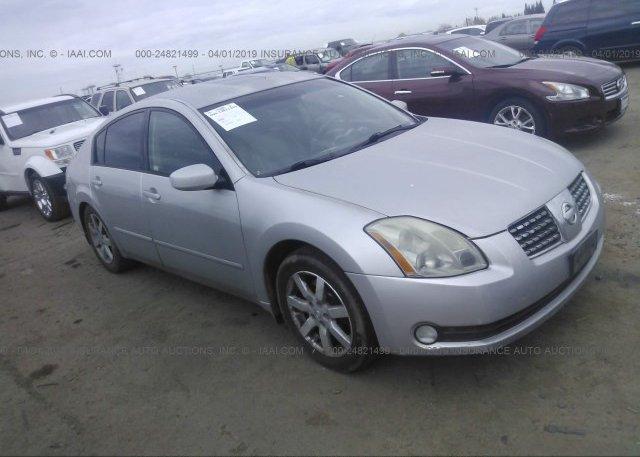 Inventory #528223201 2005 Nissan MAXIMA