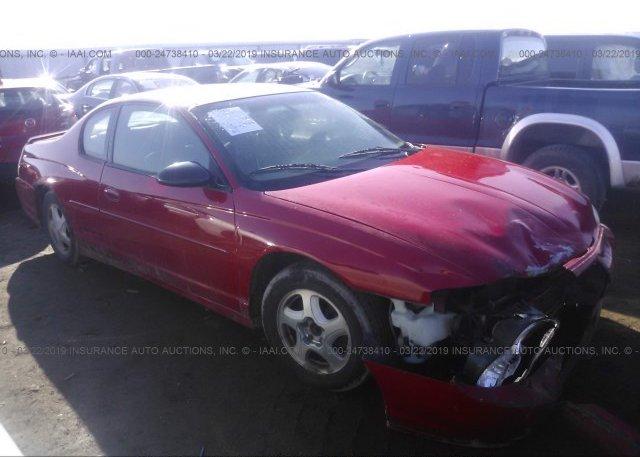 Inventory #178237727 2003 Chevrolet MONTE CARLO