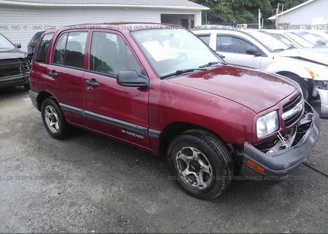Inventory #167717520 2001 Chevrolet TRACKER