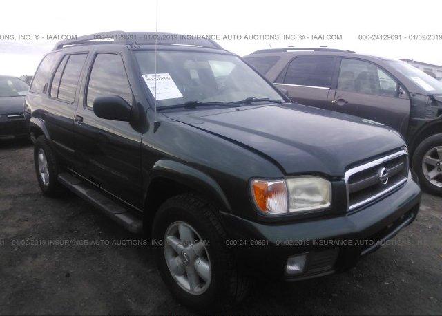 Inventory #139073505 2002 NISSAN PATHFINDER