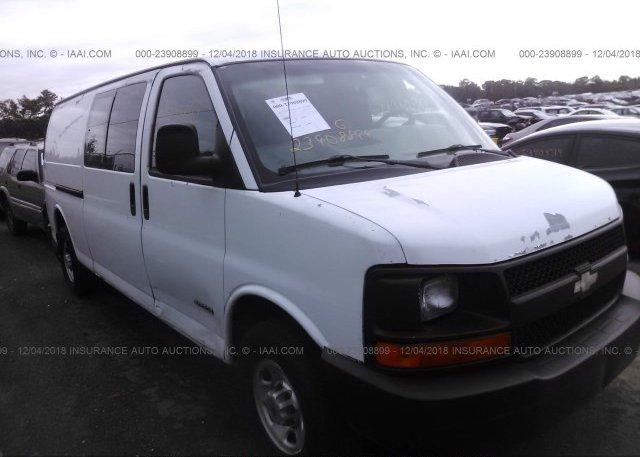 Inventory #940112335 2004 Chevrolet EXPRESS G2500