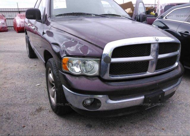 1D7HA16P57J579863, Clear white Dodge Ram 1500 at ASHLAND, VA