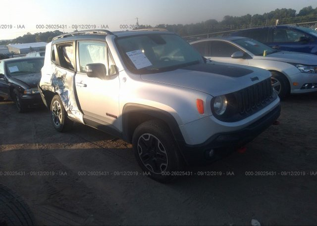 Inventory #878477645 2016 JEEP RENEGADE