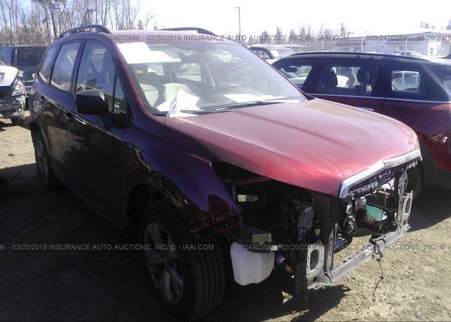 Inventory #869889921 2016 Subaru FORESTER