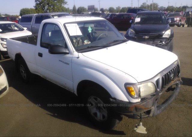 Inventory #762875809 2001 Toyota TACOMA