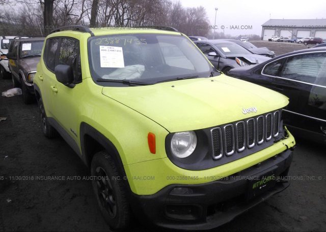 Inventory #497147957 2017 JEEP RENEGADE