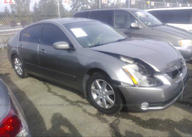 Inventory #282863042 2004 Nissan MAXIMA