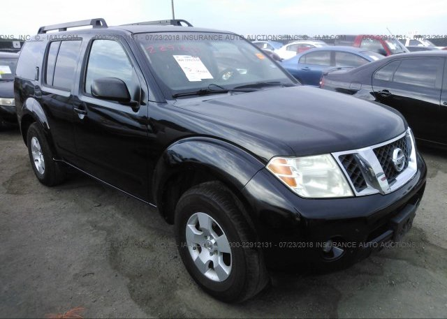 5n1ar18ux8c618908 Original Black Nissan Pathfinder At Justin Tx On