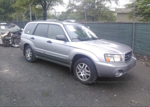 Inventory #370326211 2005 Subaru FORESTER