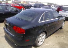2007 AUDI A4 - WAUDF78E87A111583 rear view