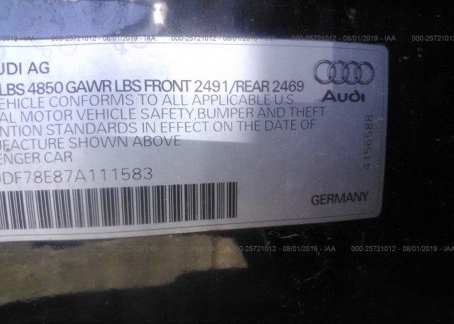 2007 AUDI A4 - WAUDF78E87A111583