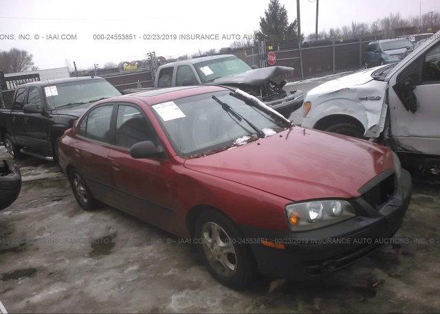 Inventory #242079416 2005 Hyundai ELANTRA