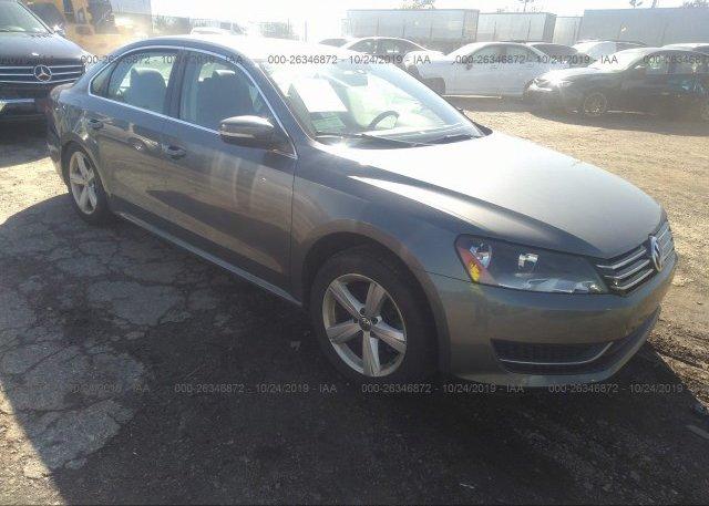 Inventory #597040046 2013 Volkswagen PASSAT