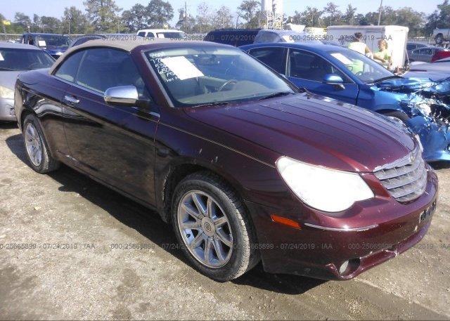 Inventory #905539058 2008 Chrysler SEBRING