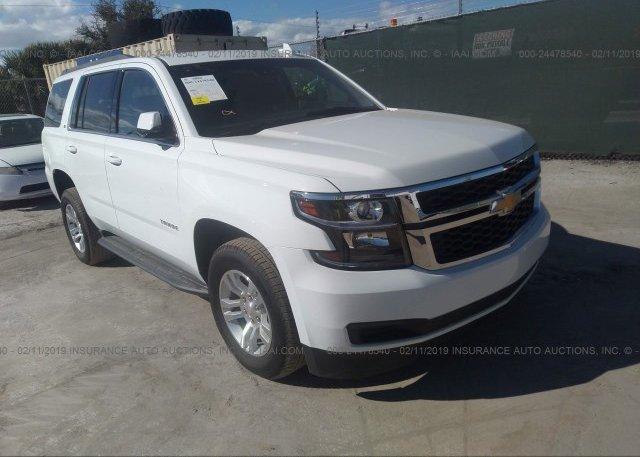 Inventory #865980463 2018 Chevrolet TAHOE