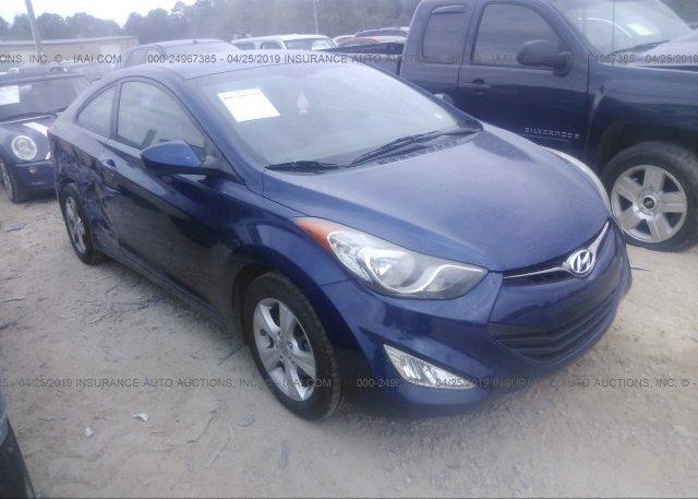 Inventory #271134446 2013 Hyundai ELANTRA COUPE