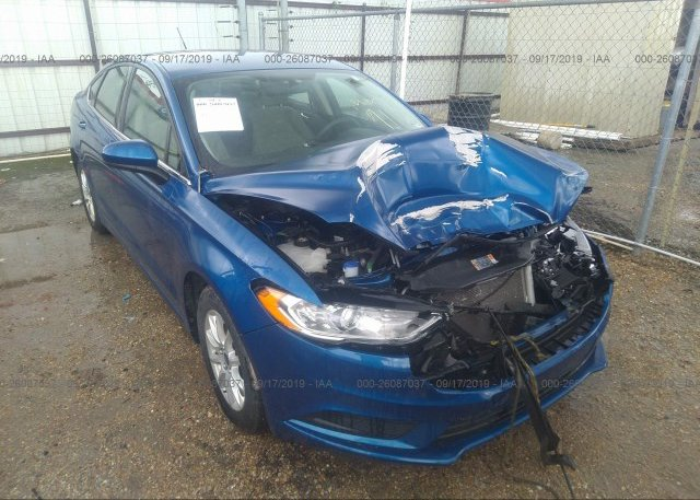 Inventory #266096657 2017 FORD FUSION