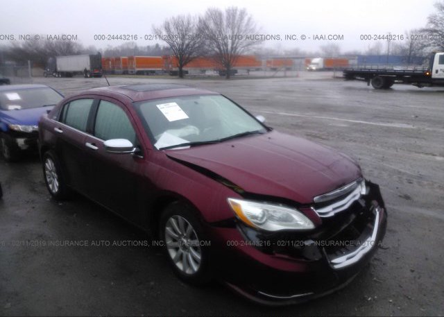 Inventory #220516864 2013 Chrysler 200
