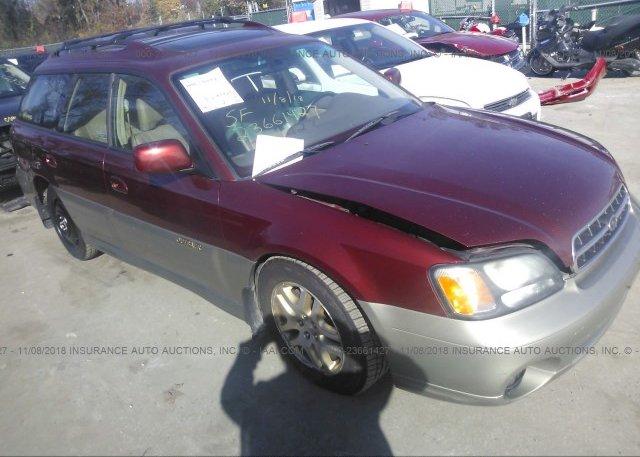 Inventory #145513348 2002 Subaru LEGACY