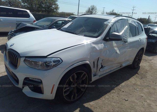 из сша 2018 BMW X3 5UXTS3C53J0Y99470