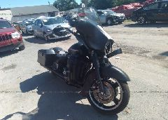 2013 Harley-davidson FLHX - 1HD1KBM18DB621749 Left View