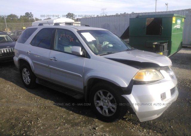 HNYDH Salvage Silver Acura Mdx At RINCON GA On Online - 2004 acura mdx rims