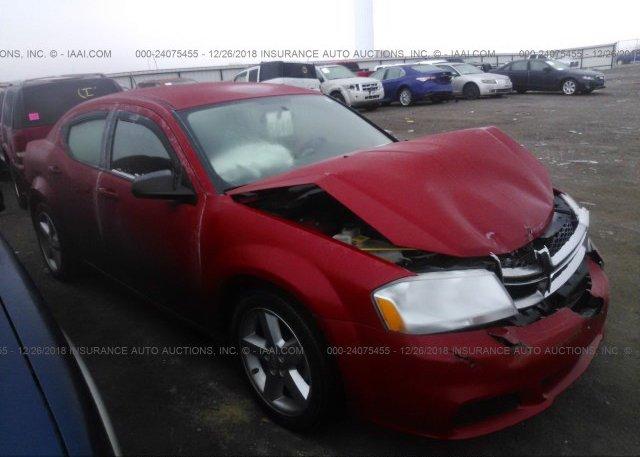 Inventory #913294419 2014 Dodge AVENGER
