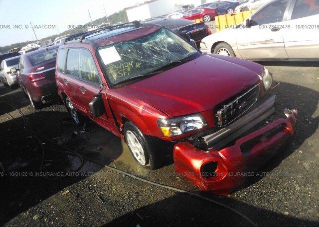 Inventory #553311969 2003 Subaru FORESTER