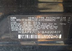 2011 BMW 328 - WBAPK7C51BA820459 engine view