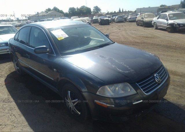 Inventory #235917325 2001 Volkswagen PASSAT