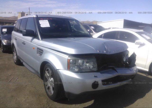 Inventory #853671413 2006 Land Rover RANGE ROVER SPORT