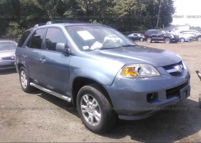2hnyd18975h516756 Clear Light Blue Acura Mdx At East Taunton Ma On