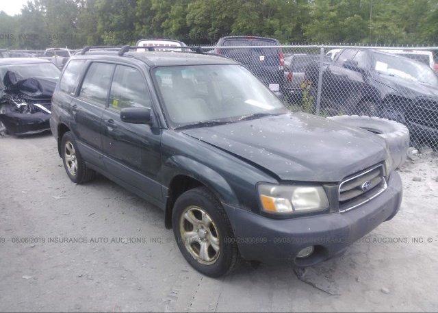 Inventory #140445730 2004 Subaru FORESTER