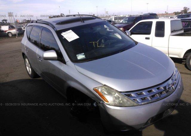 Inventory #848428657 2004 Nissan MURANO