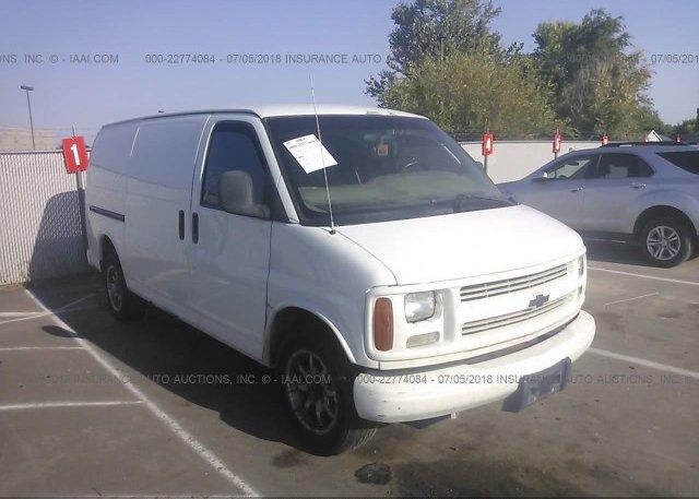 Inventory #781565200 2001 Chevrolet EXPRESS G2500