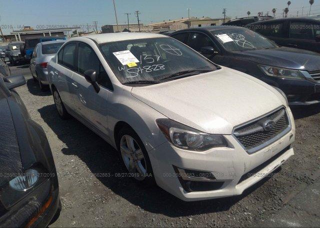 Inventory #573522919 2015 Subaru IMPREZA