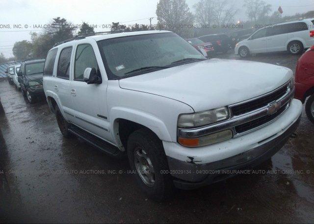 Inventory #504096704 2002 Chevrolet TAHOE
