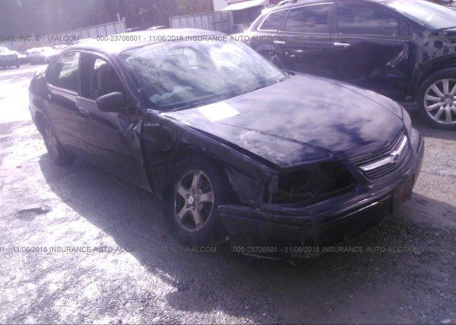 Inventory #723071205 2004 Chevrolet IMPALA