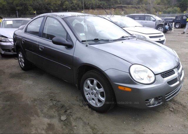 Inventory #776685455 2005 Dodge NEON