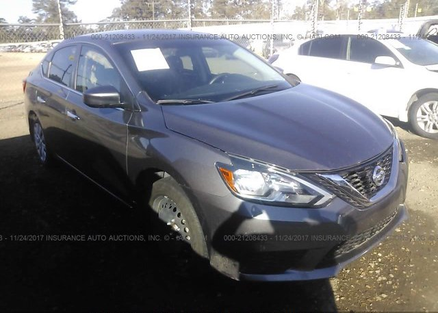 Bidding Ended On 3n1ab7ap6gy274809 Salvage Nissan Sentra At