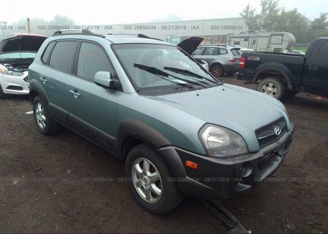 Inventory #814396697 2005 Hyundai TUCSON