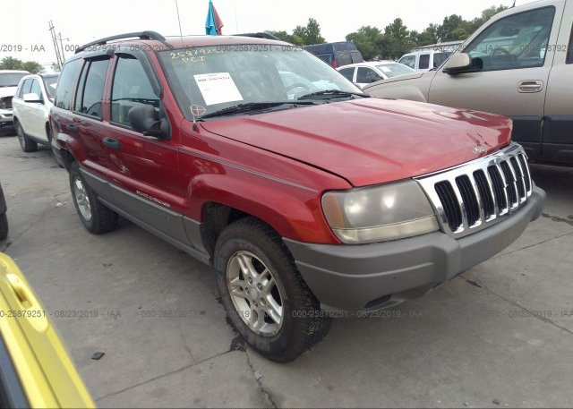 Inventory #951228701 2002 JEEP GRAND CHEROKEE