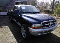 2003 Dodge DAKOTA - 1D7HG48N33S152083 Left View