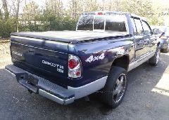 2003 Dodge DAKOTA - 1D7HG48N33S152083 rear view
