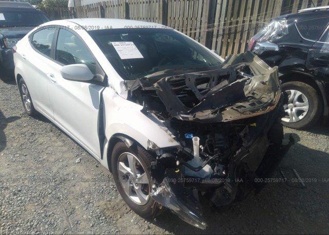 Inventory #299302878 2013 Hyundai ELANTRA