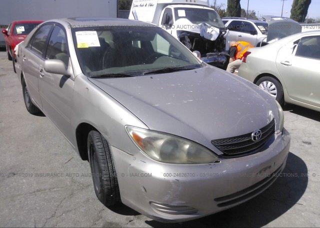 Inventory #432309629 2003 Toyota CAMRY