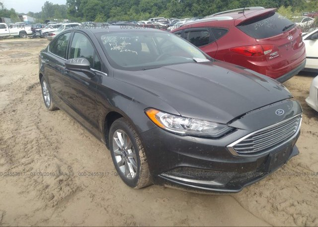 Inventory #282796635 2017 FORD FUSION