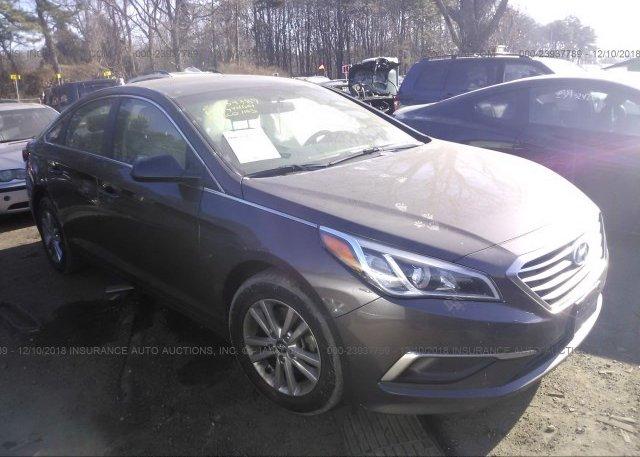 Inventory #246339934 2017 Hyundai SONATA