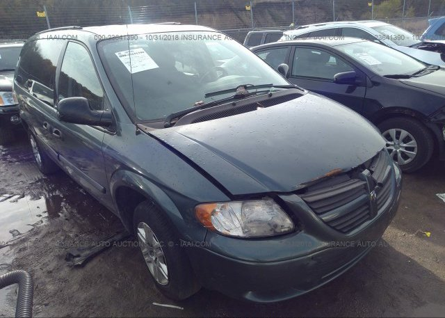 1d4gp24rx6b679404 Clear Green Dodge Grand Caravan At East Dundee