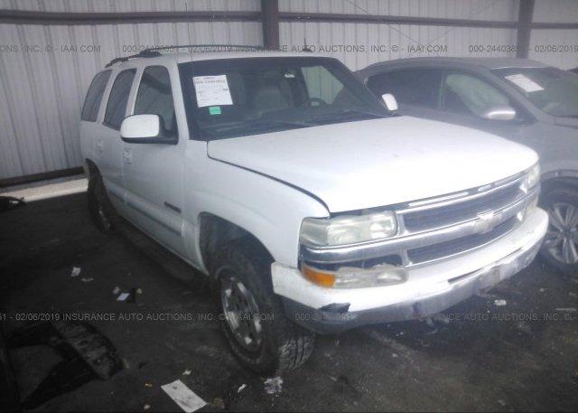 Inventory #761253656 2002 Chevrolet TAHOE